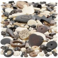Natural Mix-luuhelmet, koko 5-30 mm, aukon koko 1-2 mm, 300 g/ 1 pkk