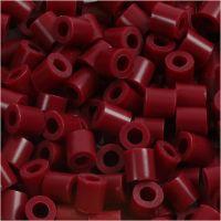 Nabbi- putkihelmet, koko 5x5 mm, aukon koko 2,5 mm, medium, viininpunainen (32239), 6000 kpl/ 1 pkk