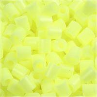 Nabbi- putkihelmet, koko 5x5 mm, aukon koko 2,5 mm, medium, kelt.pastelli (32244), 6000 kpl/ 1 pkk