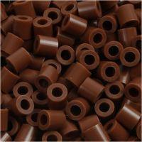 Nabbi- putkihelmet, koko 5x5 mm, aukon koko 2,5 mm, medium, suklaanruskea (32249), 1100 kpl/ 1 pkk