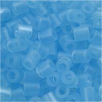 Nabbi- putkihelmet, koko 5x5 mm, aukon koko 2,5 mm, medium, sin.neon (32235), 6000 kpl/ 1 pkk