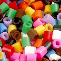 Nabbi- putkihelmet, koko 5x5 mm, aukon koko 2,5 mm, medium, perusvärilajitelma, 6000 laj/ 1 pkk