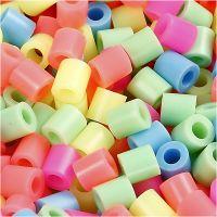 Nabbi- putkihelmet, koko 5x5 mm, aukon koko 2,5 mm, medium, pastellivärit, 1100 laj/ 1 pkk