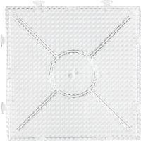 Putkihelmialusta, iso yhdistettävä neliö, koko 15x15 cm, kuulto, 1 kpl
