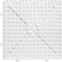 Putkihelmialusta, iso neliö, koko 15x15 cm, JUMBO, kuulto, 1 kpl