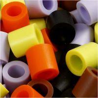 Putkihelmet, koko 10x10 mm, aukon koko 5,5 mm, JUMBO, syysvärit, 2450 laj/ 1 prk