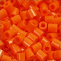 PhotoPearls- helmet, koko 5x5 mm, aukon koko 2,5 mm, kirkas oranssi (13), 1100 kpl/ 1 pkk