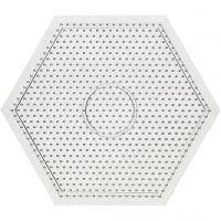 Putkihelmialusta, iso kuusikulmio, koko 15x15 cm, 10 kpl/ 1 pkk