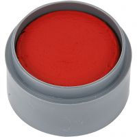 Kasvoväri Grimas, kirkas punainen, 15 ml/ 1 tb