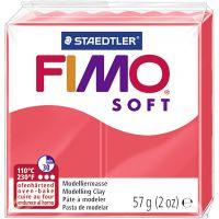 FIMO® Soft- muovailumassa, flamingo, 57 g/ 1 pkk