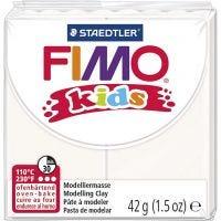 FIMO® Kids Clay , valkoinen, 42 g/ 1 pkk