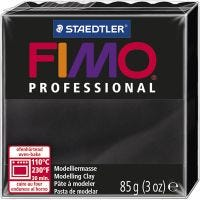 FIMO® Professional Clay , musta, 85 g/ 1 pkk