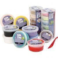 Silk Clay® silkkimassa, värilajitelma, 22 tb/ 1 pkk