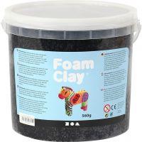 Foam Clay® Helmimassa, musta, 560 g/ 1 prk