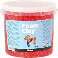 Foam Clay® Helmimassa, punainen, 560 g/ 1 prk