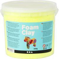 Foam Clay® Helmimassa, neonkeltainen, 560 g/ 1 prk