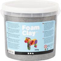 Foam Clay®, metallinen, hopea, 560 g/ 1 prk