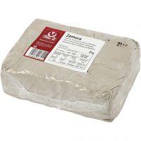 Kivisavi, luonnonvalkonen, 5 kg/ 1 pkk