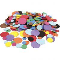 Softispyörylät, halk. 12+20+32 mm, värilajitelma, 300 laj/ 1 pkk