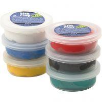 Silk Clay® silkkimassa, perusvärilajitelma, 6x14 g/ 1 pkk