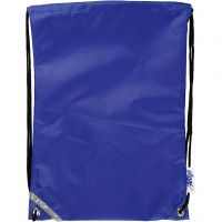 Nailonkassi, koko 31x44 cm, sininen, 1 kpl