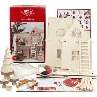 Joulupukin talo -materiaalisetti, 1 set