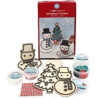 Lumiukko ja joulukuusi, 1 set