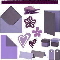 Happy Moments - kortinteko, värilajitelma, 160 my/ 1 pkk