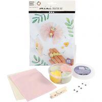 Mini luova pakkaus, perhosen elinkaari, 1 set