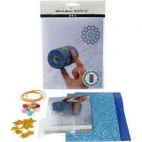 Mini-luova pakkaus, Kaleidoskooppi WC-paperirullasta, 1 set
