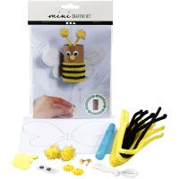Mini-luova pakkaus, Pomppiva ampiainen wc-paperirullasta, 1 set