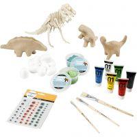 Dinosaurus- setti, 1 set