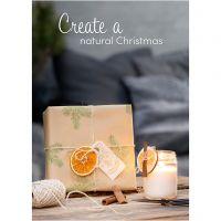 Inspiraatiojulisteita, Nature Christmas, koko 21x30+29,7x42+50x70 cm, 4 kpl/ 1 pkk