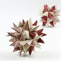 Paperiset joulukoristeet