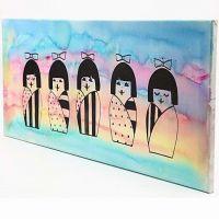 Japanilaistyylinen maalaus