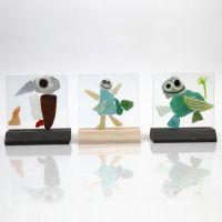 Mosaiikkia lasilevyillä