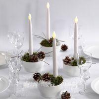 Joulukoriste Led- kynttilöillä