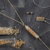 Riipus Rocaille- siemenhelmistä