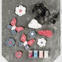 Ripustettavia koristeita Foam Clay Large:sta